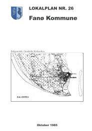 Læs lokalplan i PDF - Fanø Kommune