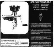 Tre Spade Tomato Squeezer, Model BT, No. 2