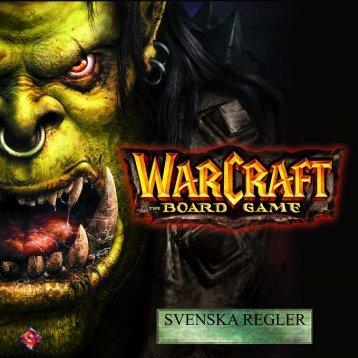 SVENSKA REGLER - Fantasy Flight Games