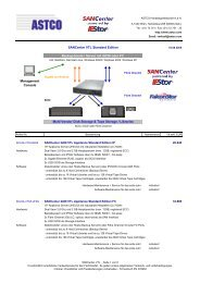 SANCenter VTL Standard Edition Backup-Hosts / Server mit iSCSI ...