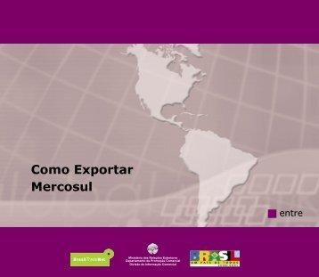 Como Exportar Mercosul - Fapese