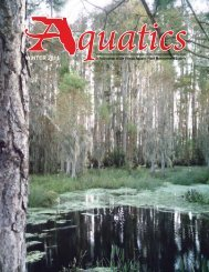 WINTER 2011 - Florida Aquatic Plant Management Society