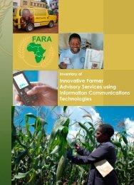 Innovative Farmer Advisory Services using Information ... - FARA