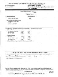 Supplemental Statement - FARA