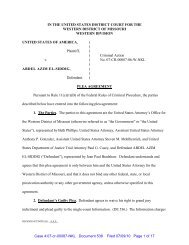 Plea Agreement - FARA