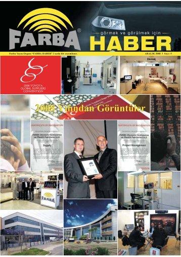 2008 Aralık - Farba