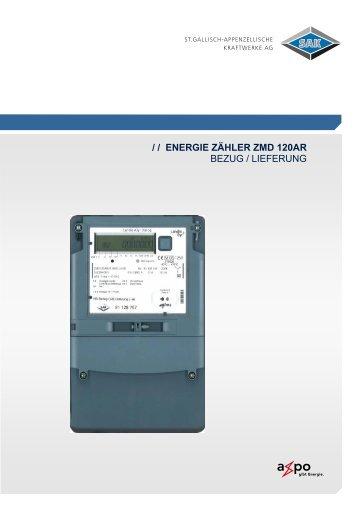 Energie Zähler ZMD 120 - SAK