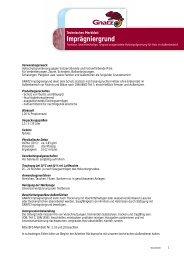 Imprägniergrund - Louis Gnatz GmbH