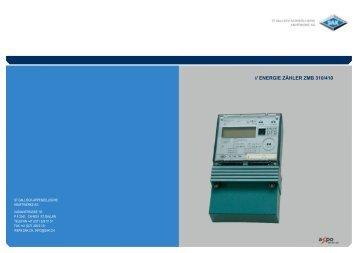 // ENERGIE ZÄHLER ZMB 310/410