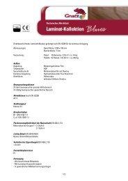 Direktbeschichteter Laminatfußboden gefertigt nach EN 13329 für ...