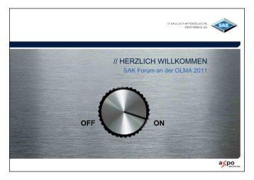OFF ON // HERZLICH WILLKOMMEN - SAK