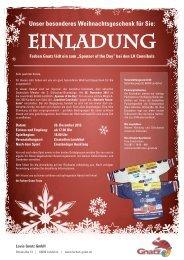 Unser besonderes Weihnachtsgeschenk für Sie - Louis Gnatz GmbH
