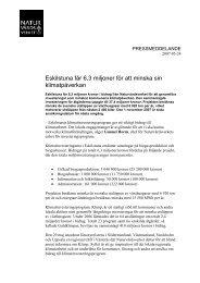 Eskilstuna får 6,3 miljoner för att minska sin klimatpåverkan