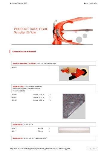 katalog-download - Farben Klein GmbH