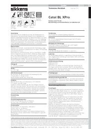 Cetol BL XPro - Farbenhaus Metzler Onlineshop