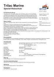 Trilac Marine - Farbenhaus Metzler Onlineshop