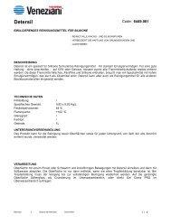 Technisches Merkblatt von Detersil - Farbenhaus Metzler Onlineshop