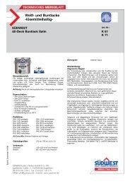 Technisches Merkblatt All-Deck seidenglanz - Farbenhaus Metzler ...