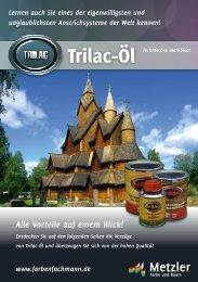 Trilac-Öl - Farbenhaus Metzler Onlineshop
