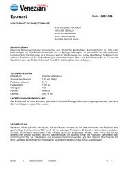 Technisches Merkblatt von Epomast - Farbenhaus Metzler Onlineshop