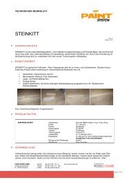 TM Steinkitt - Farbenhaus Metzler Onlineshop