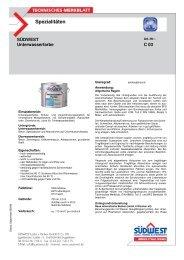 Technisches Merkblatt Unterwasserfarbe - Farbenhaus Metzler ...