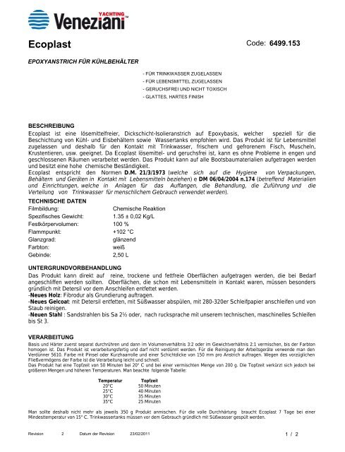 Ecoplast - Farbenhaus Metzler Onlineshop