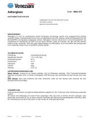 Technisches Merkblatt Adherglas - Farbenhaus Metzler Onlineshop