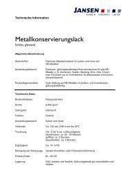 Metallkonservierungslack - Farbenhaus Metzler Onlineshop