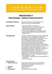Techn. Merkblatt Innstone F1 - Farbenhaus Metzler Onlineshop