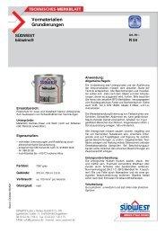 Technisches Merkblatt Bölazink - Farbenhaus Metzler Onlineshop