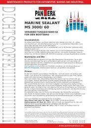MARINE SEALANT MS 3000/60 - Farbenhaus Metzler Onlineshop