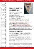 MARINE SEALANT MS 3000/60 - Farbenhaus Metzler Onlineshop - Page 2