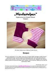 """""""Wendestulpen"""" - Farbenmix"""