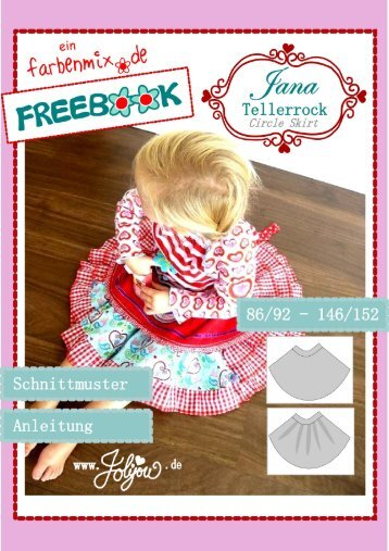 Circle Skirt JANA jolijou.de 2010 – all rights reserved ... - Farbenmix