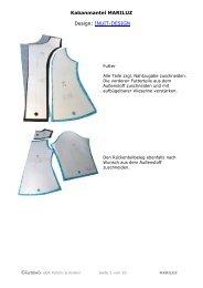 Kabanmantel MARILUZ Design: INUIT-DESIGN - Farbenmix