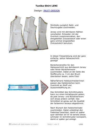 Tunika-Shirt LENI Design: INUIT-DESIGN - Farbenmix