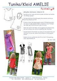 Tunika/Kleid AMELIE - Farbenmix