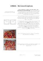 LUNADA: Wellenschlaghose - Banberry Place