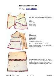 Blusenkleid DESTINA Design: INUIT-DESIGN - Farbenmix