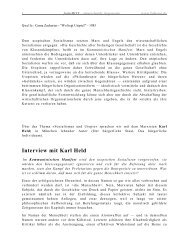 Interview mit Karl Held - farbeRot