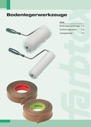 Bodenlegerwerkzeuge [PDF - 2166kb] - Farbtex