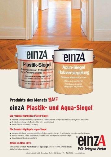 einzA Plastik- und Aqua-Siegel - Farbtex