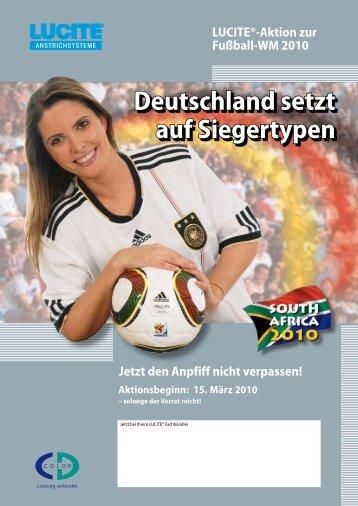 Deutschland setzt auf Siegertypen - Farbtex