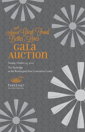 Gala Auction - FareStart