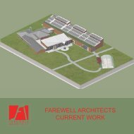 Brochure 7.5x7.5.indd - Farewell Architects LLC
