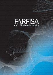Catalogue 2011 - Con Farfisa il MADE IN ITALY vince