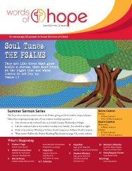 Summer Sermon Series - Hope Lutheran Church