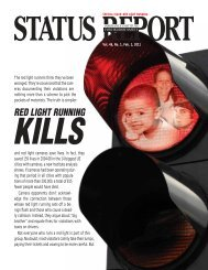 special issue: red light running - The Norfolk & Dedham Group
