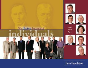 2006 Farm Foundation Annual Report